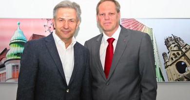 Klaus Wowereit und Robert Drewnicki