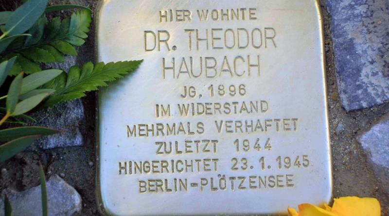 Stolperstein Haubach