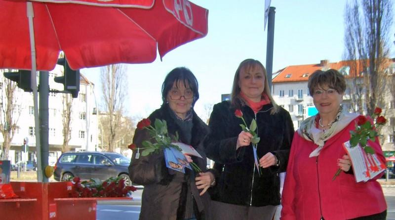 Infostand Frauentag 2014, Bild 1