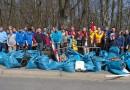 Müllsammelaktion mit Hertha BSC und Olympiastadion Berlin GmbH