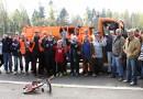 Müllsammelaktion 2016 mit Hertha BSC und Olympiastadion Berlin GmbH