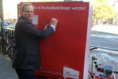 Infostand SPD Bürgerdialog 2012