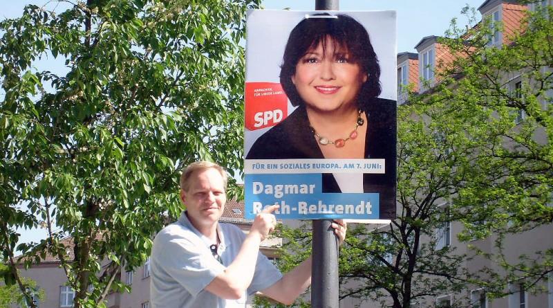 Robert Drewnicki, Europa Wahlkampf 2009