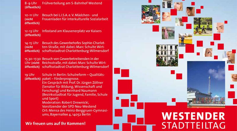 Einladung Stadtteiltag 2011