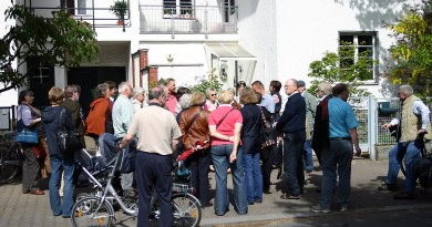 Stadtspaziergang der SPD Neu-Westend