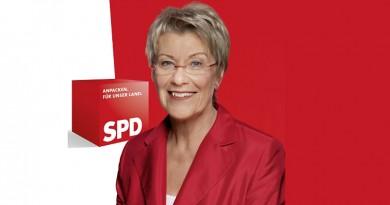 Wahlplakat Petra Merkel 2009