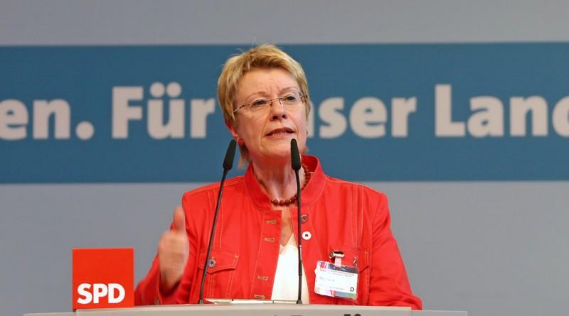 Petra Merkel, Landesparteitag 2009