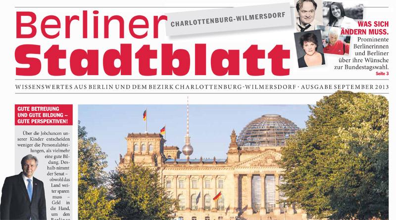 Berliner Stadtblatt 09-2013