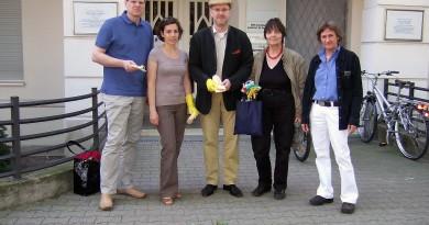 Stolpersteinputzen 2011