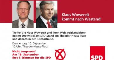 Klaus Wowereit kommt 2011