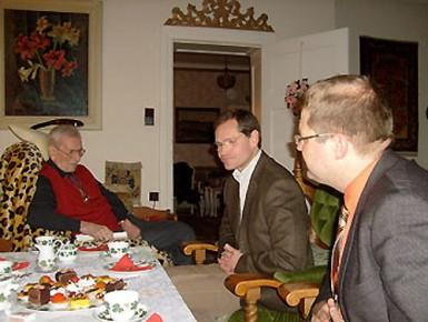 Ehrung Heinz Hoefer 2010