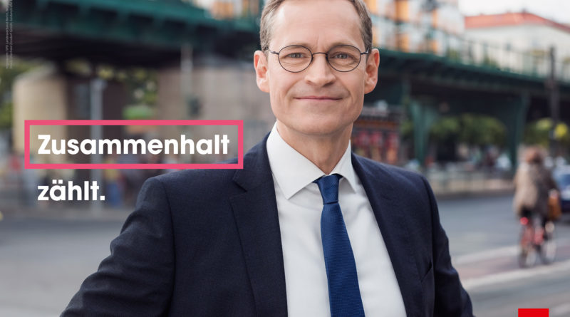 Michael Müller, Plakat 2016