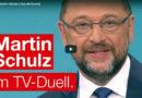 Das TV-Duell Schulz vs. Merkel
