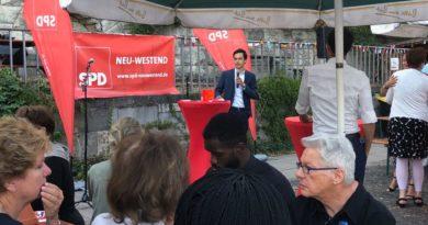 SPD Neu-Westend feiert Terrassenfest mit dem Regierenden Bürgermeister Michael Müller